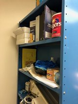 Storage shelf in Naperville, Illinois