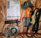 "RIDGID 4 1/2 in. Angle Grinder ""NEW"" in Vacaville, California"