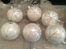 6 Glass Christmas Ornaments - Poland in Naperville, Illinois