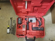 18v Milwaukee rotary hammer drill with Jack hammer in Lawton, Oklahoma