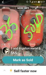 6gal metal boat gas tank in Fort Polk, Louisiana
