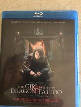 "Movie on DVD (Blue Ray) - ""The Girl with The Dragon Tattoo"" in Fort Leonard Wood, Missouri"