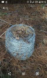 barbed wire in Leesville, Louisiana