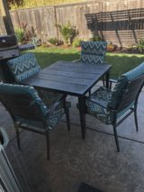 Metal Patio Set with Cushions in Vacaville, California