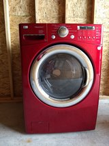 LG Steam Washer and Whirlpool Dryer in Fort Lewis, Washington