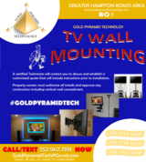 TV Wall Mount Installation in Norfolk, Virginia