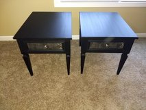 Two matching beautiful black end tables in Pleasant View, Tennessee