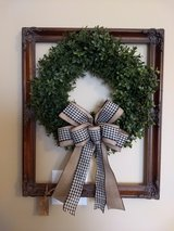 Large beautiful antique frame with Greenery and bow in Pleasant View, Tennessee