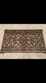 Wrought Iron Metal Doormat in Westmont, Illinois