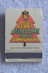 YOGI BEAR'S JELLYSTONE PARK CAMPGROUND Y.V. Matchbook in 29 Palms, California