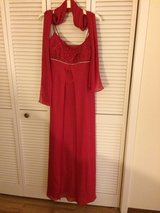 formal red gown in DeRidder, Louisiana