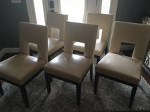 5 cushioned dining room chairs in Fort Benning, Georgia