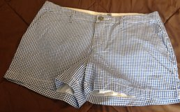 Old Navy size 8 blue plaid shorts new no tag in Fort Riley, Kansas