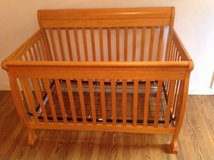 DaVinci Kalani 4-In-1 Convertible Crib in Oak Color in Bartlett, Illinois