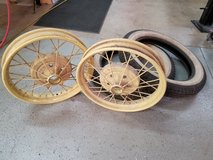 Ford Model A Rims and Tires in Naperville, Illinois