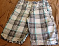Arizona Jean Co boys size 12 plaid shorts in Manhattan, Kansas