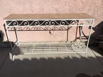 Outdoor Metal Table in Camp Pendleton, California