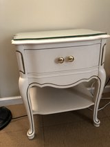 French inspired night stand/side table in Beaufort, South Carolina