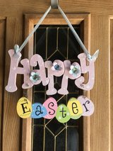 Happy Easter Hanging Decor in Alamogordo, New Mexico