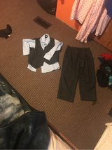 boy dress slacks,shirt vest combo 12 in Fort Leonard Wood, Missouri