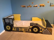 Toddlers digger bed in Lakenheath, UK