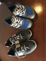 Adidas Golf Shoes (Blue Pair) & Foot Joy GolfShoes (Black Pair) in Okinawa, Japan