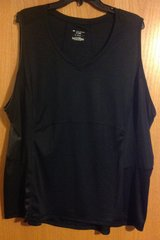 Tek Gear DryTek 3X black tank top workout shirt New without tags in Fort Riley, Kansas