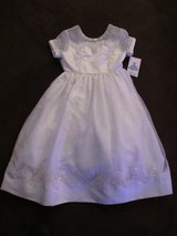 NWT Girls Rare Edition Formal Fancy White Easter Dress 7, Communion, Flower Girl in St. Charles, Illinois
