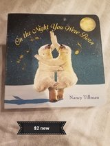 On the night you were born book **new** in Travis AFB, California