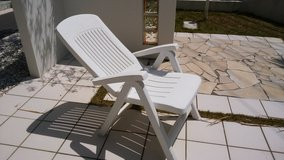 Patio Reclining Chair in Okinawa, Japan