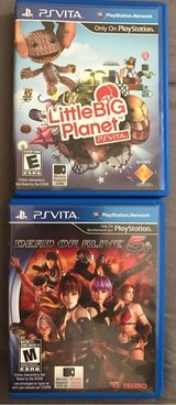 Dead or Alive 5+ and LIttle Big Planet Playstation Vita in Okinawa, Japan