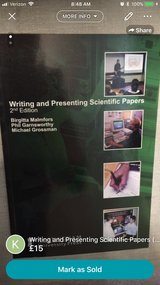 Writing and Presenting Scientific Papers (2nd Edition) in Lakenheath, UK