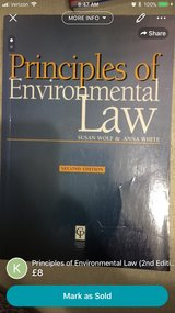 Principles of Environmental Law (2nd edition) in Lakenheath, UK