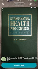 Environmental Health Procedures (5th edition) in Lakenheath, UK