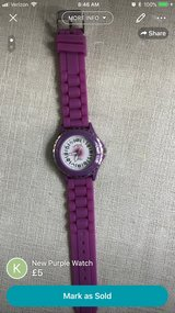 Purple Watch (new, needs battery) in Lakenheath, UK