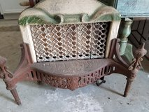 Antique Victoria Gas heater in Houston, Texas