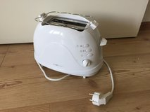 Toaster, Wide Slot/Bun-Bagel Toaster - All 220v in Ramstein, Germany