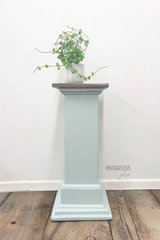 Handpainted Medallion Stenciled Plant Stand in Elgin, Illinois