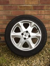 Renault scenic Michelin run flat alloy wheels and tyres in Lakenheath, UK