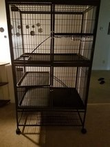 Ferret cage in Camp Lejeune, North Carolina
