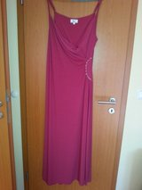Pink full length gown in Ramstein, Germany