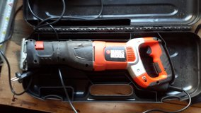 Sawzall black and Decker in Ramstein, Germany