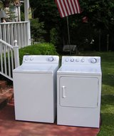 Washer and Dryer GE Set Large tub-Super Reliable And Guaranteed in Macon, Georgia