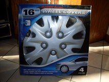 16 Inch Wheel Covers. NIB! in Bolingbrook, Illinois
