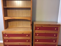 Youth dresser w/ hutch & chest of drawers in St. Charles, Illinois