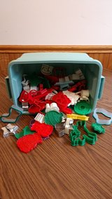 Christmas cookie cutters, assorted in Algonquin, Illinois
