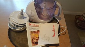 Moulinex food processor with accessories in Lakenheath, UK