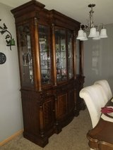 China cabinet in Bolingbrook, Illinois