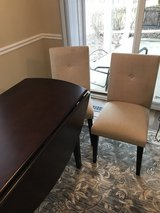 "60"" Drop Leaf Table w/2 Chairs in Bolingbrook, Illinois"