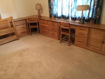 Ranch Oak Bedroom Set-10 Pieces in Bolingbrook, Illinois